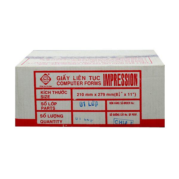 GIẤY LIÊN SƠN 1 LIÊN SUPER WHITE 210x279MM